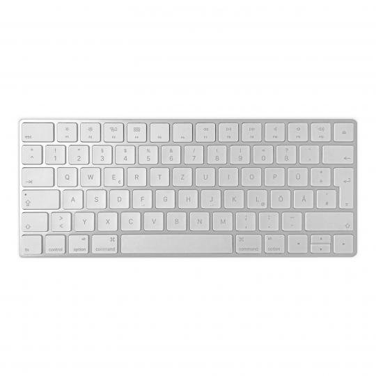 Apple Magic Keyboard QWERTZ (A1644 / MLA22D/A) Silber gut