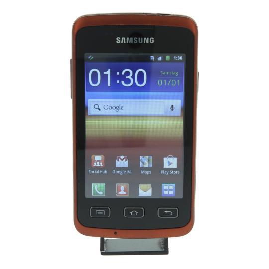 Samsung Galaxy Xcover (GT-S5690) 160 MB negro naranja