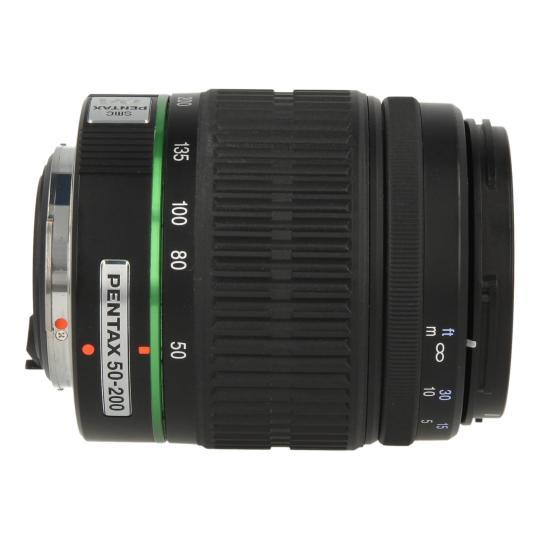Pentax smc 50-200mm 1:4-5.6 DA ED Schwarz sehr gut