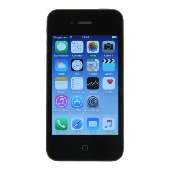 Apple iPhone 4 (A1332) 8 GB negro buen estado