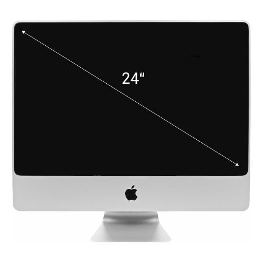 "Apple 24"" Zoll, (2009) Intel Core 2 Duo 2.93 GHz 640 GB 8 GB schwarz gut"