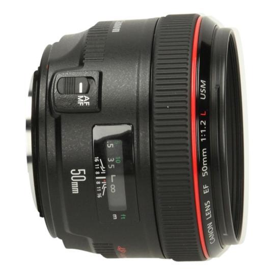 Canon EF 50mm 1:1.2 L USM Schwarz sehr gut