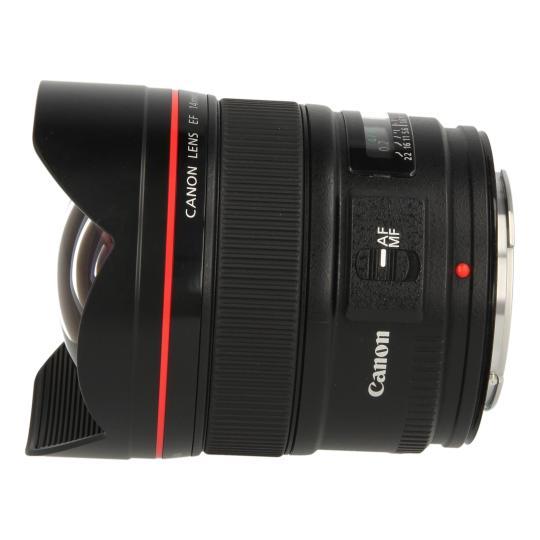 Canon EF 14mm 1:2.8 L II USM Schwarz gut
