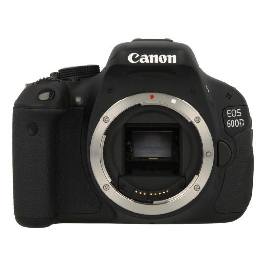 Canon EOS 600D Schwarz gut