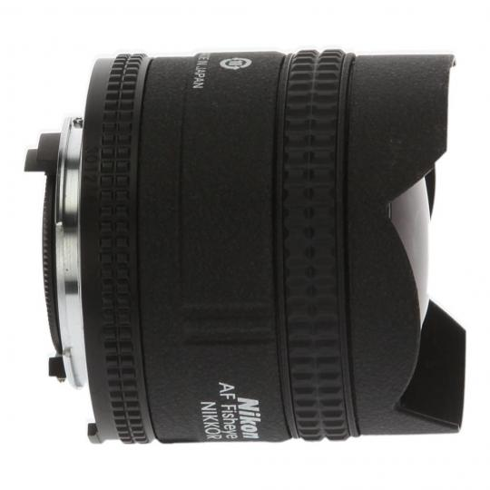 Nikon AF Fisheye-Nikkor 16mm 1:2.8D negro muy bueno