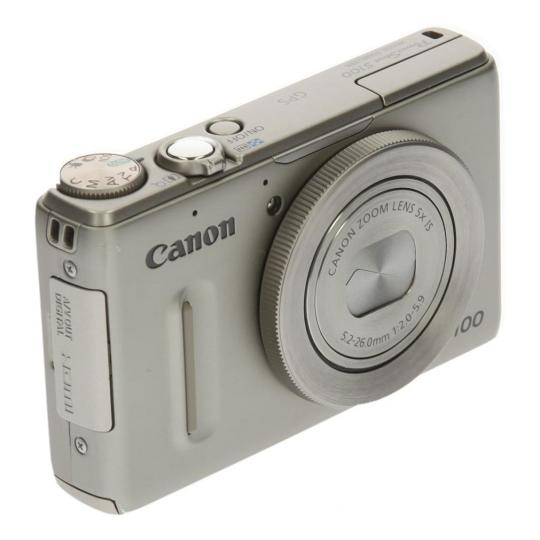 Canon PowerShot S100 Silber gut