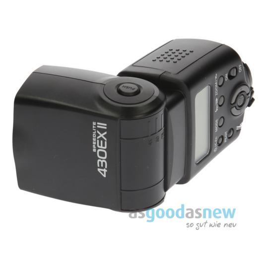 Canon Speedlite 430EX II Schwarz gut