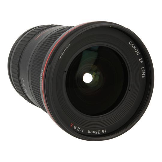 Canon 16-35mm 1:2.8 EF L II USM Schwarz gut