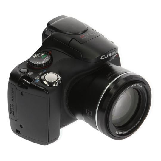 Canon PowerShot SX40 HS Schwarz gut