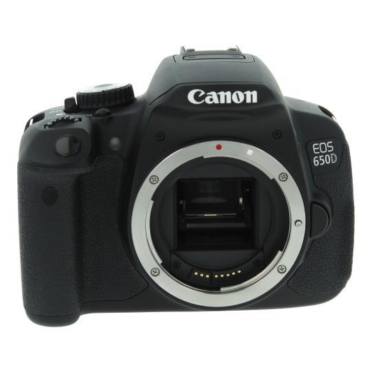 Canon EOS 650D Schwarz gut