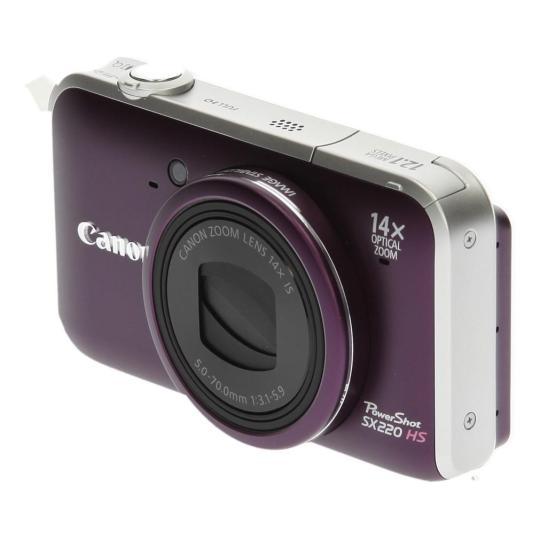 Canon PowerShot SX220 HS violet Bon