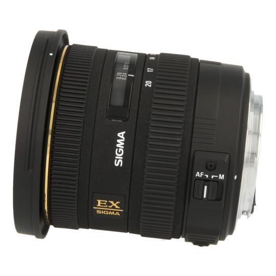 Sigma 10-20mm 1:3.5 EX negro muy bueno