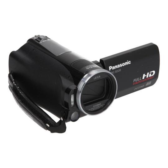 Panasonic HDC-SD20 schwarz gut