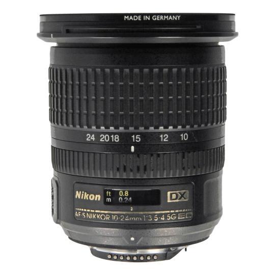 Nikon AF-S Nikkor 10-24mm 1:3.5-4.5G ED DX Schwarz neu