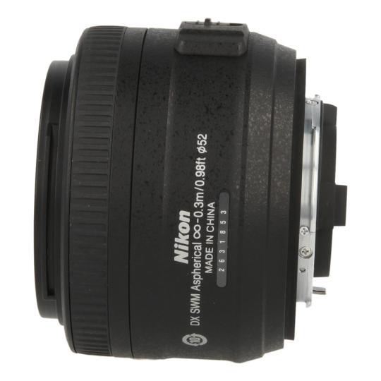Nikon Nikkor 35 mm F1.8 SWM AF-S DX MA G Objetivo negro