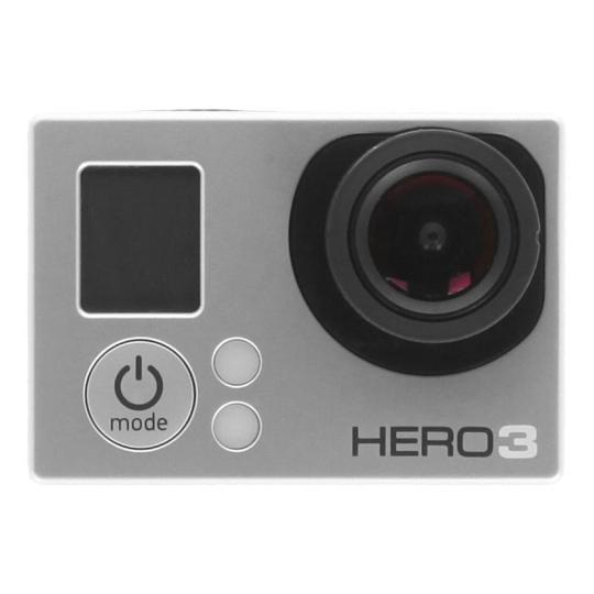 GoPro HD HERO3 White Edition silber wie neu