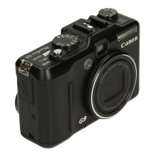 Canon PowerShot G9 Schwarz gut