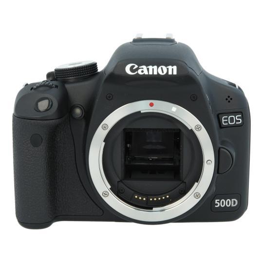 Canon EOS 500D Schwarz gut