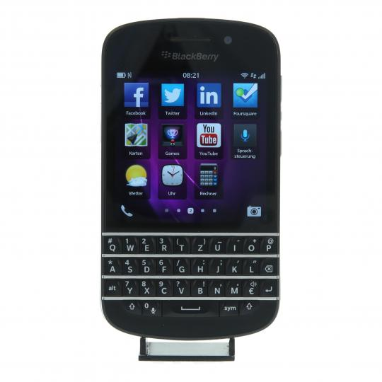 BlackBerry Q10 16 GB Schwarz gut