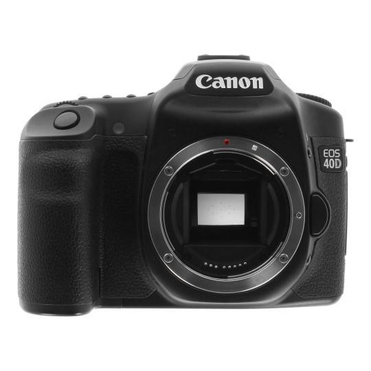 Canon EOS 40D Schwarz gut