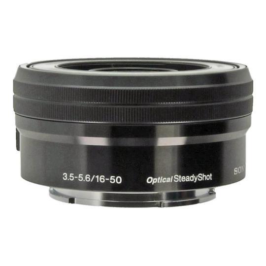 Sony 16 mm - 50 mm f3.5-5.6 for Sony negro buen estado