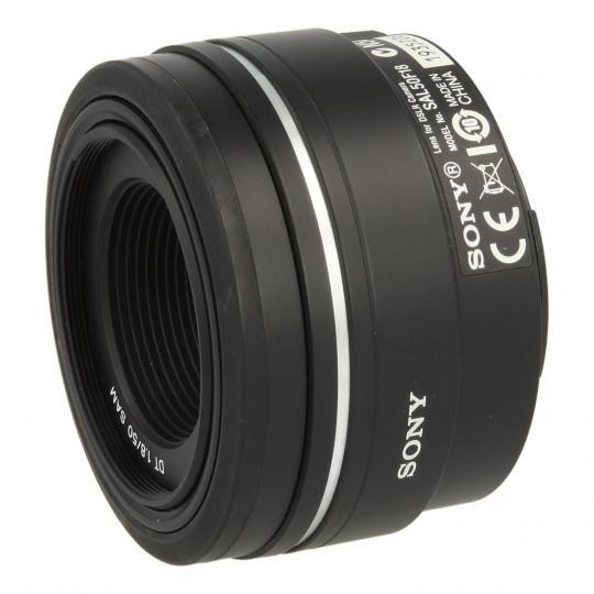 Sony 50mm 1:1.8 DT SAM negro buen estado