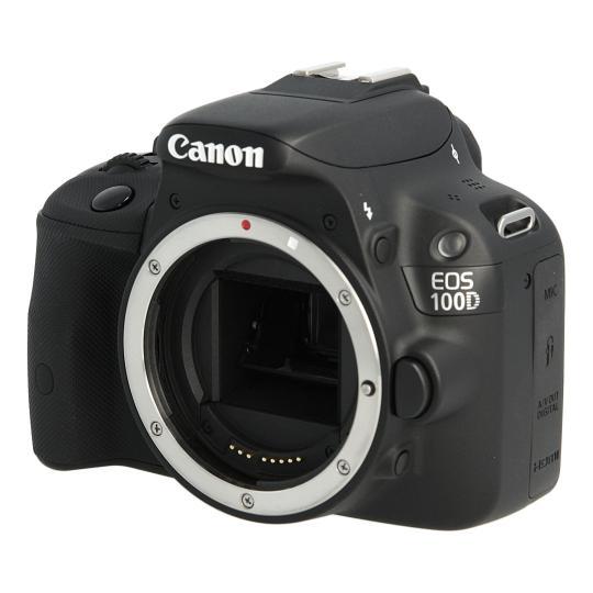 Canon EOS 100D Schwarz gut