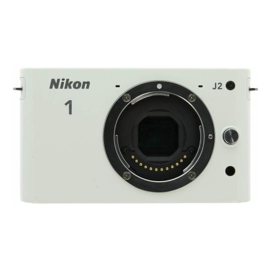 Nikon 1 J2 blanco buen estado