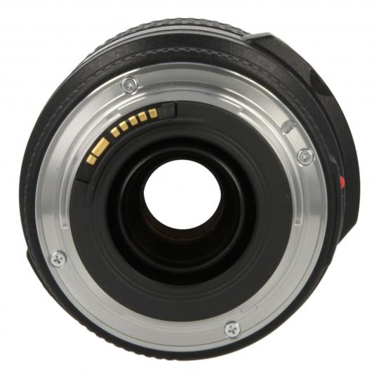 Canon EF-S 18-135 mm 1:3.5-5.6 IS STM negro buen estado