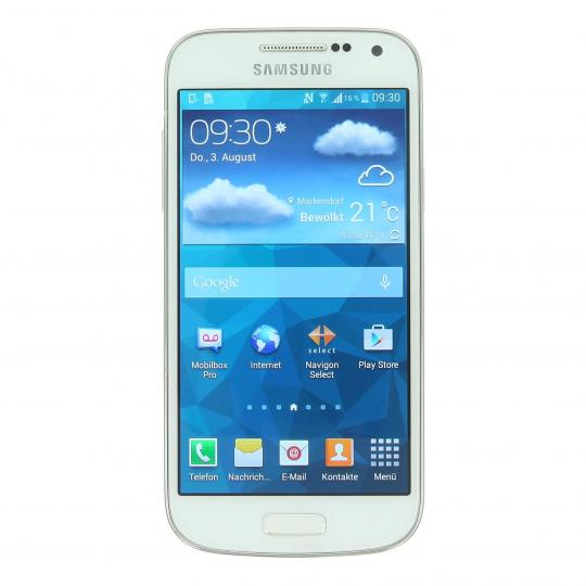 Samsung Galaxy S4 mini (GT-i9195) 8 GB blanco frost buen estado