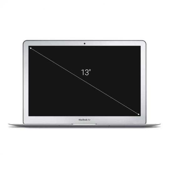 "Apple MacBook Air 2010 13,3"" Intel Core 2 Duo 2,13 GHz 256 GB SSD 4 GB silber gut"