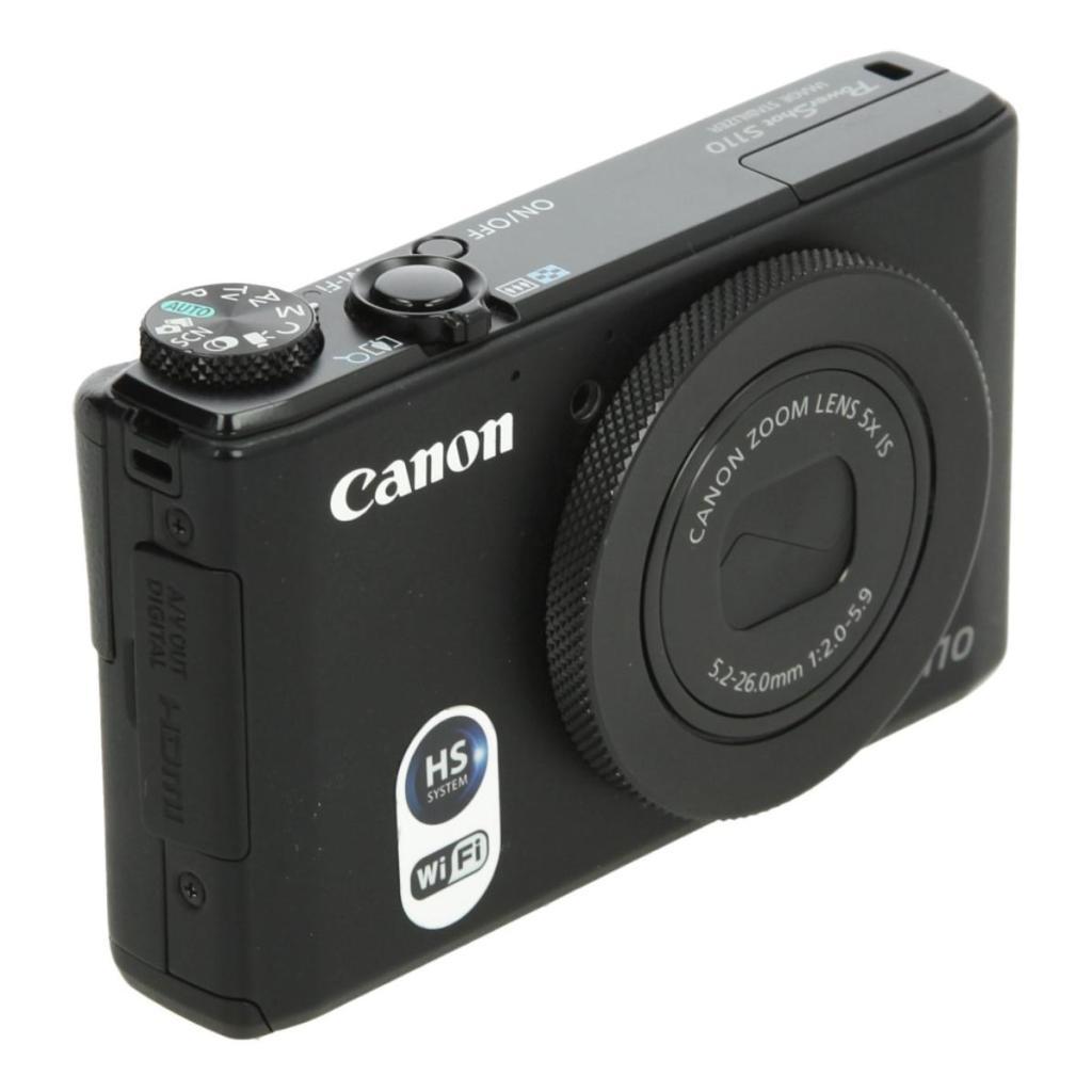 Canon PowerShot S110 Schwarz neu
