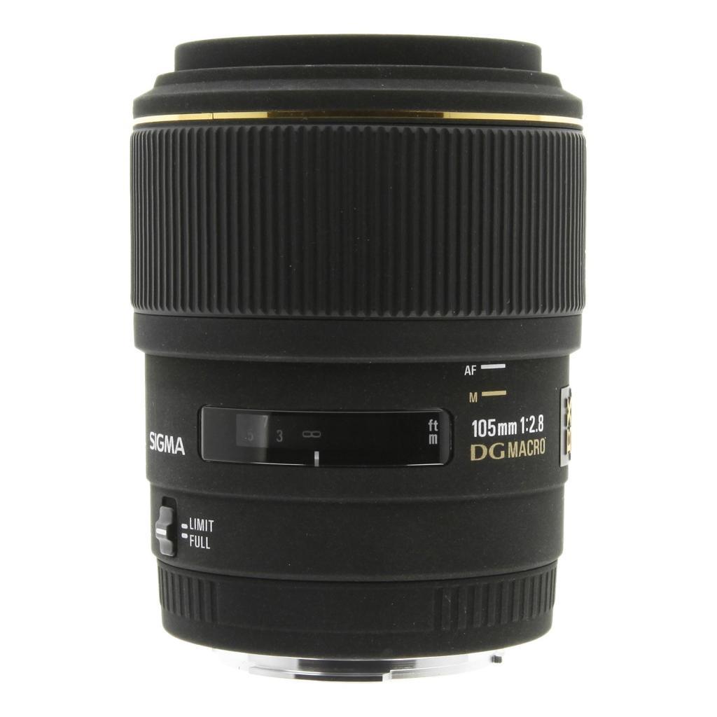 Sigma 105mm 1:2.8 EX DG Macro für Sony & Minolta schwarz sehr gut