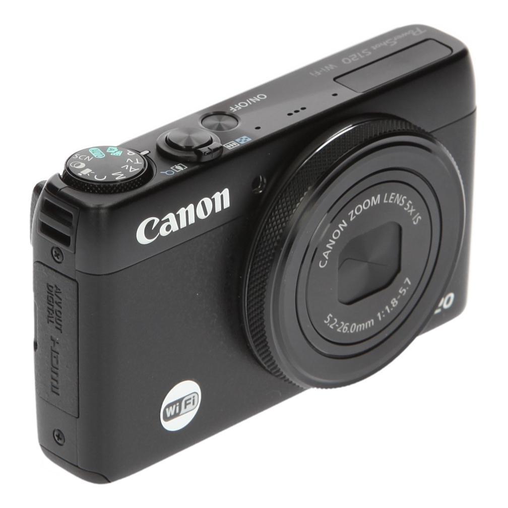 Canon PowerShot S120 Schwarz neu