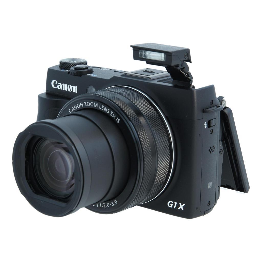 Canon PowerShot G1 X Mark II Schwarz gut