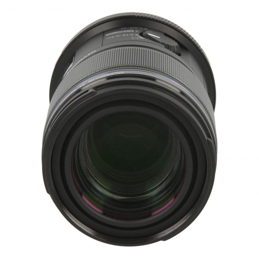 Olympus Zuiko Digital 60mm 1:2.8 ED Macro Schwarz gut