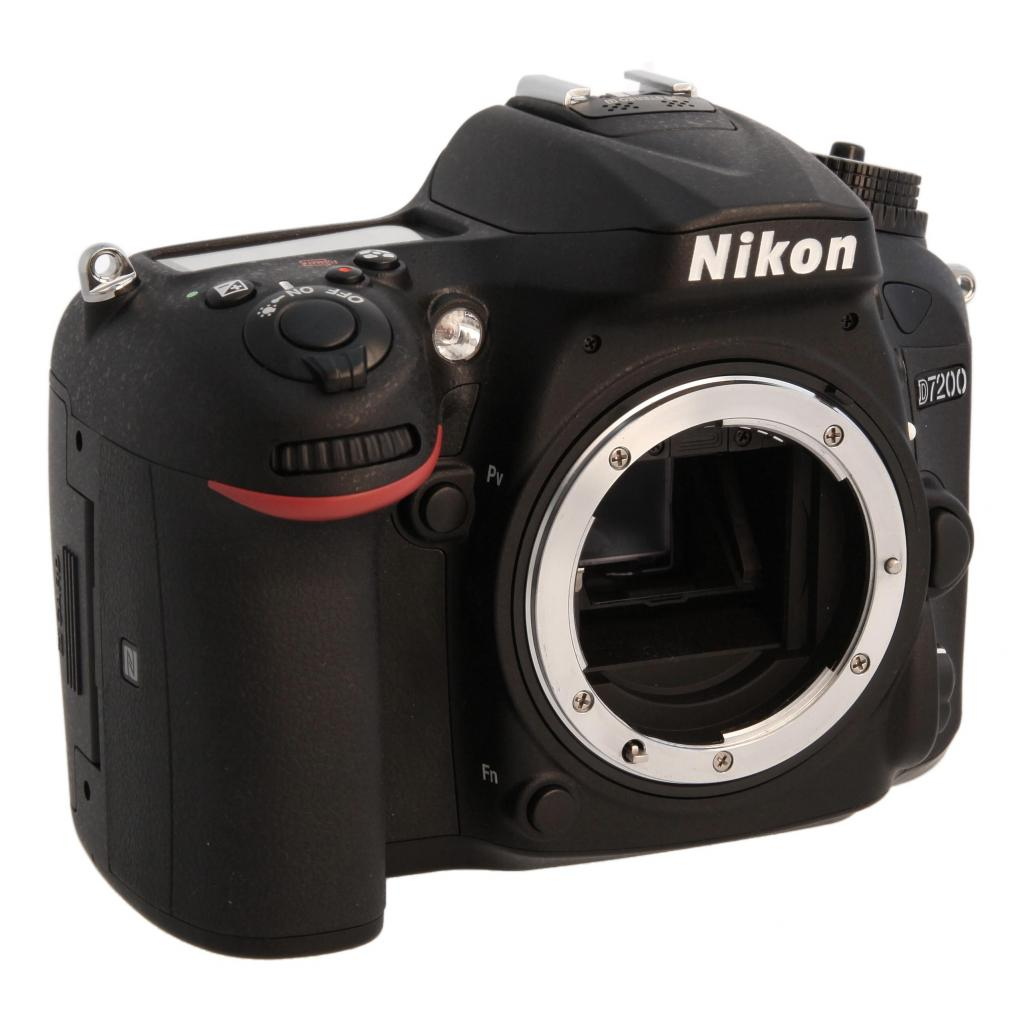 Nikon D7200 Schwarz neu