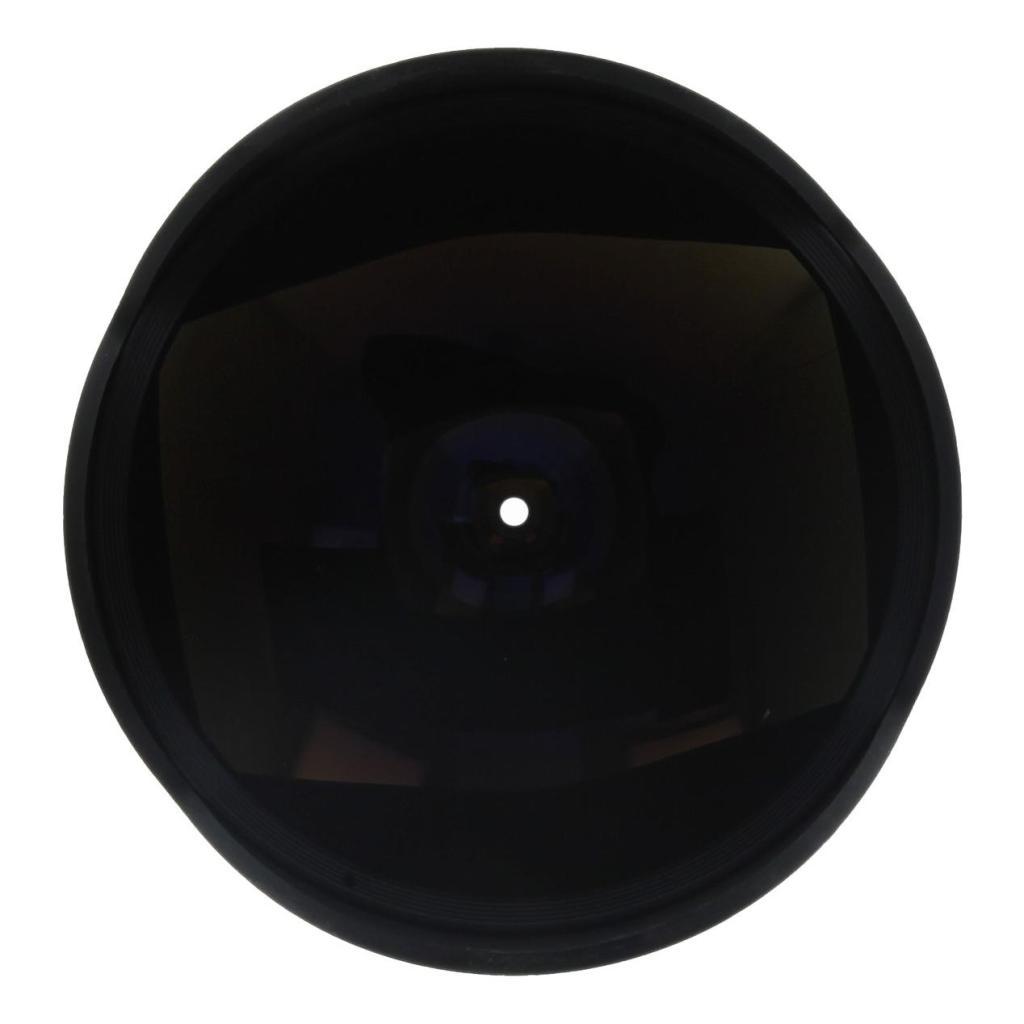 Walimex Pro 8mm 1:3.5 Fisheye für Nikon Schwarz wie neu