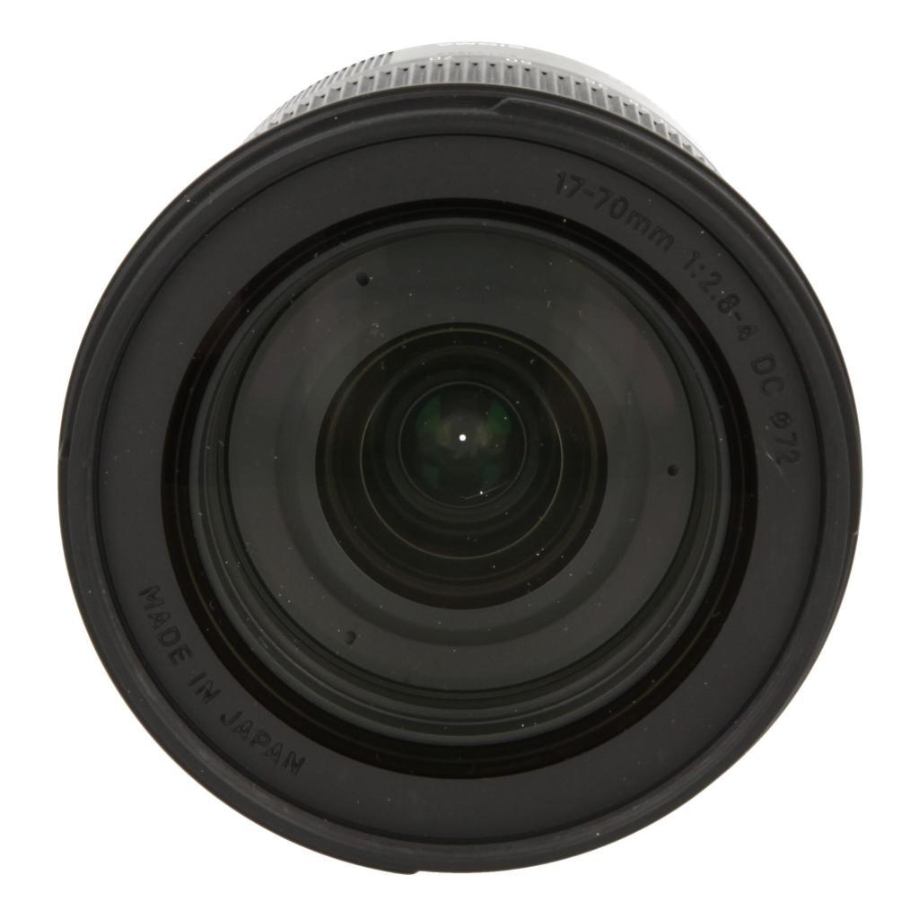 Sigma 17-70mm 1:2.8-4 DC HSM Macro Contemporary für Sony / Minolta Schwarz neu