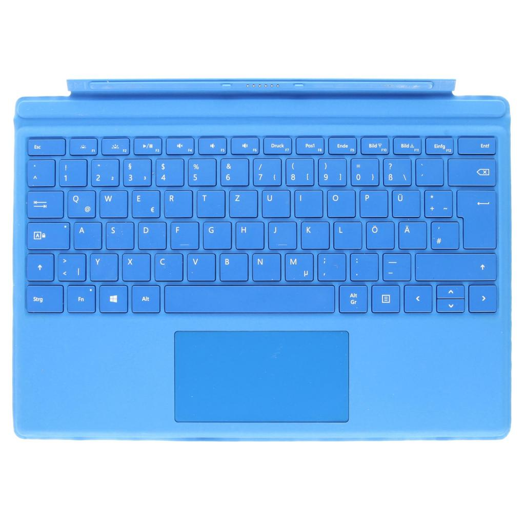 Microsoft Surface Pro 4 Type Cover (A1725) Hellblau - QWERTZ sehr gut