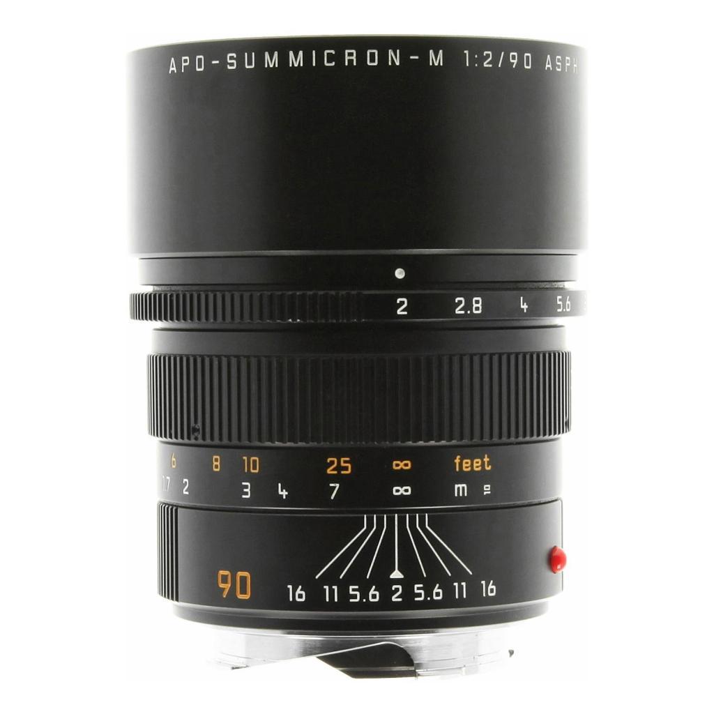 Leica 90mm 1:2.0 SUMMICRON-M APO ASPH schwarz sehr gut