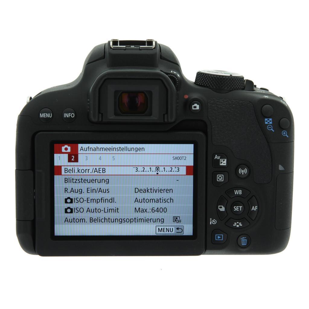 Canon EOS 800D Schwarz gut