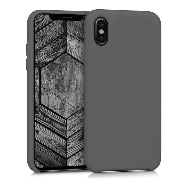 kwmobile TPU Case für iPhone X schwarz (42495.01) gut