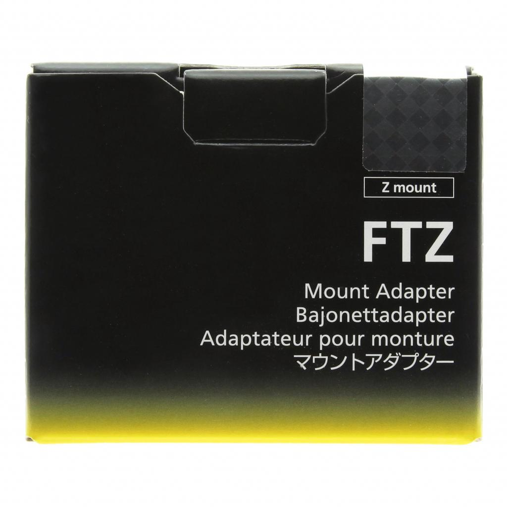 Nikon FTZ Bajonettadapter schwarz neu