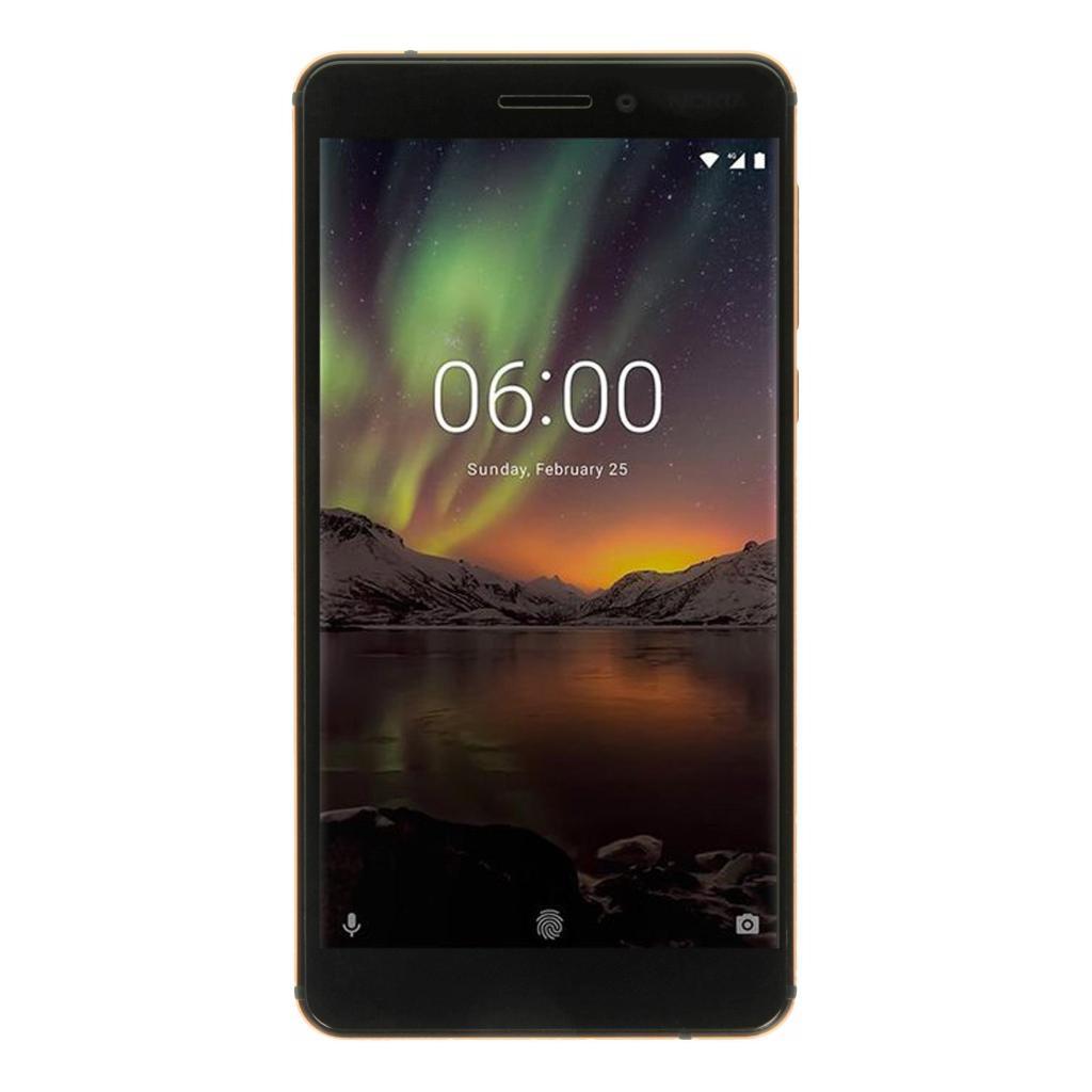 Nokia 6.1 Dual-Sim 32GB schwarz sehr gut