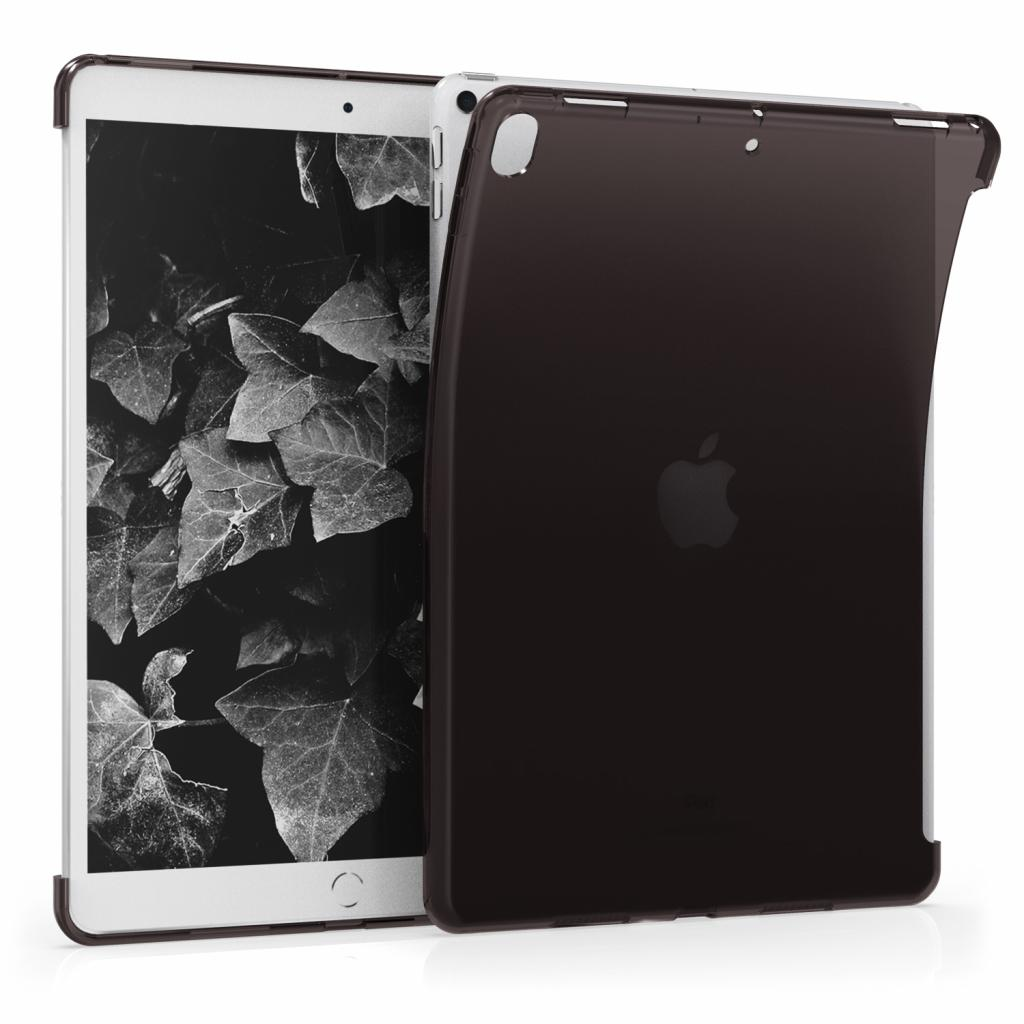 """kwmobile Soft Case für Apple iPad Pro 2017 10,5"""" / iPad Air 3 2019 10,5"""" (48337.01) schwarz/durchsichtig neu"""