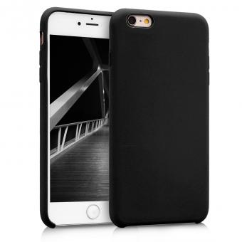 kwmobile Soft Case für Apple iPhone 6 Plus / 6S Plus (40841.47) schwarz matt neu