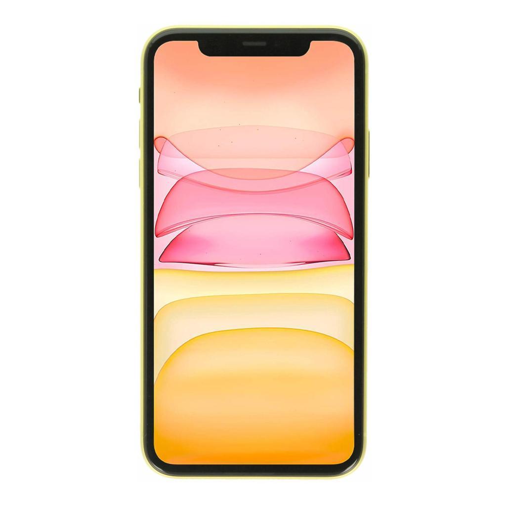 Apple iPhone 11 128GB gelb sehr gut