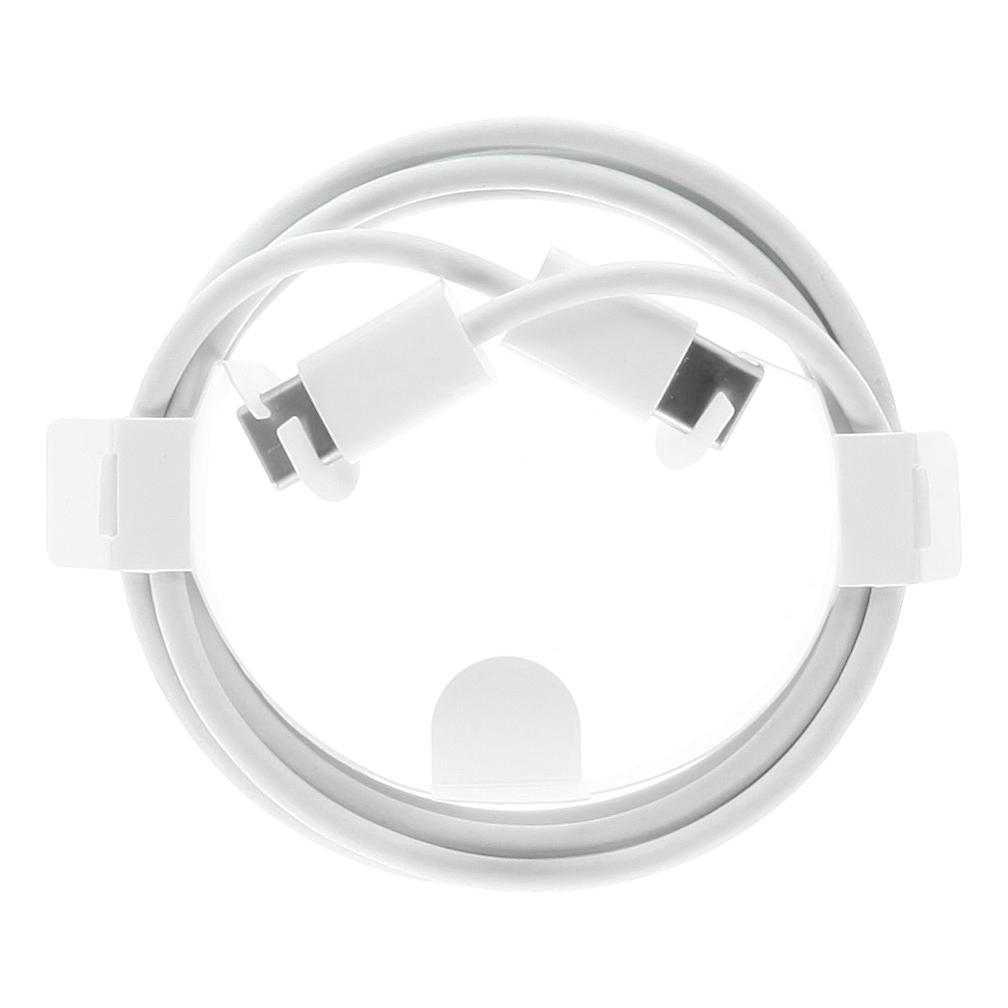 USB-C auf USB-C Ladekabel 1m -ID17319 weiß gut