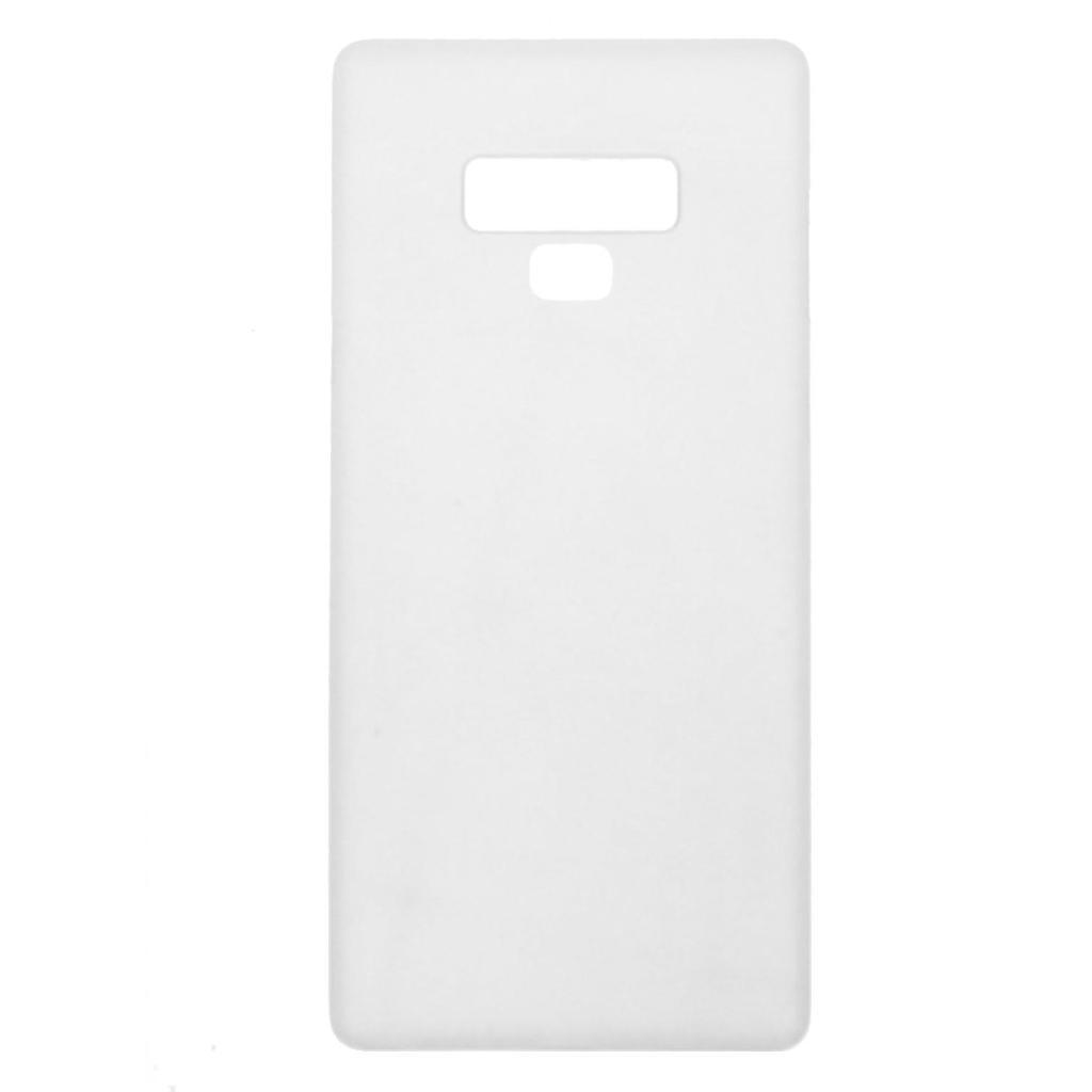 Hard Case für Samsung Galaxy Note 9 -ID17516 weiß/durchsichtig neu